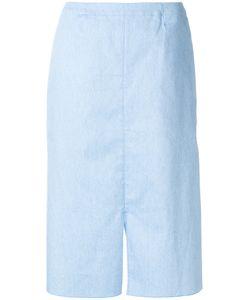 Julien David   Straight-Fit Midi Skirt Women