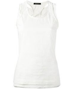 Rundholz | Laye Tank Top Xs Cotton/Linen/Flax/Polyamide/Spandex/Elastane