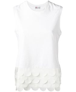 Red Valentino | Scallop Detail Tank