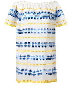 Lemlem   Полосатое Платье С Открытыми Плечами
