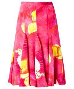Isolda | Silk Printed Skirt
