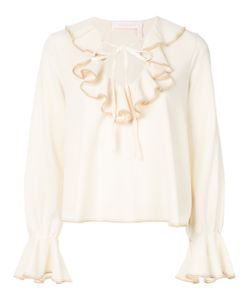 See By Chloe | Ruffled Peasant Blouse