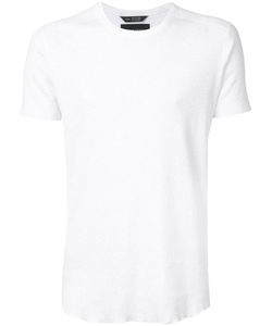 wings + horns | Wingshorns Round Neck T-Shirt Small Cotton