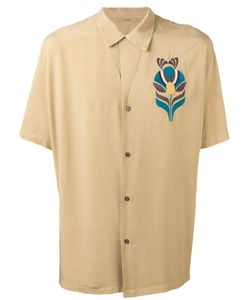 Nuur | Embroidered Figure Shirt Size 48