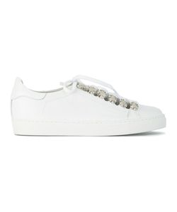 Toga | Metal Appliqué Sneakers 38 Leather/Rubber