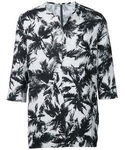 KAZUYUKI KUMAGAI   Three-Quarters Sleeve Printed T-Shirt