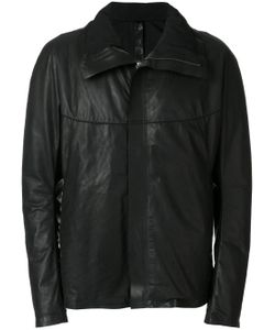 Isaac Sellam Experience | High Collar Leather Jacket