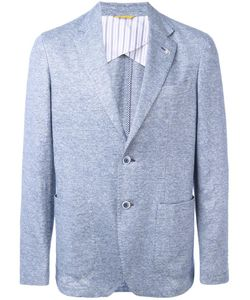 Canali | Patch Pocket Blazer 56 Cotton/Linen/Flax/Cupro