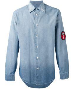 Marc Jacobs | Palm Patch Denim Shirt Size 48