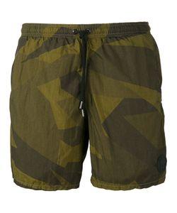 Hydrogen   Camouflage Swim Shorts Large
