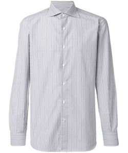 Isaia | Pinstripe Shirt Men 42