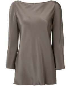 PETER COHEN | Long-Sleeve Blouse Large