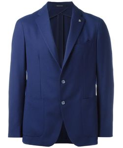 Tagliatore | Two-Button Blazer 46 Virgin Wool/Cupro