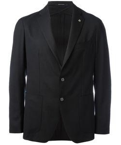Tagliatore | Two-Button Blazer 54 Virgin Wool/Cupro