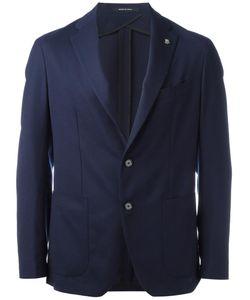Tagliatore | Two-Button Blazer Size 46 Virgin Wool/Cupro