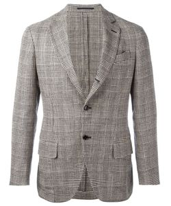 MP MASSIMO PIOMBO | Striped Unconstructed Blazer Size 52