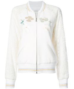 Rodarte | Embroidered Quilted Bomber Jacket Women