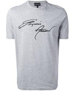 Emporio Armani | Футболка С Принтом-Логотипом