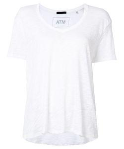 ATM Anthony Thomas Melillo | Plain T-Shirt Xs/S Cotton
