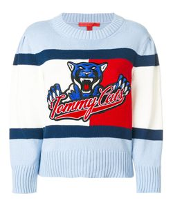 Hilfiger Collection | Tommy Cats Cropped Sweater Women