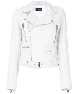 Manokhi | Off-Center Zip Fastening Jacket