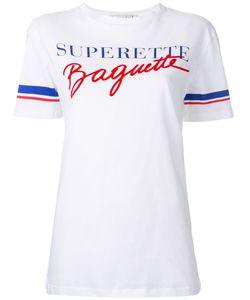 ÊTRE CÉCILE   Être Cécile Superette Baguette T-Shirt Medium Cotton