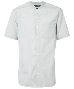 wings + horns | Wingshorns Mandarin Neck Shortsleeved Shirt Size Large