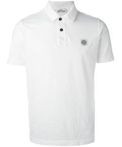 Stone Island | Logo Patch Polo Shirt Xxl Cotton