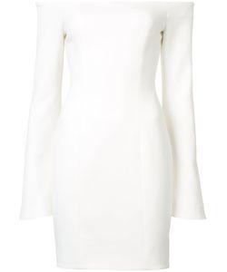 Cinq A Sept | Off-Shoulder Dress 6 Polyester/Viscose/Spandex/Elastane