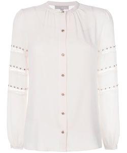 Michael Michael Kors | Рубашка С Кружевными Полосками И Заклепками