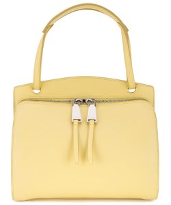 Jil Sander | Double Zip Shoulder Bag Calf Leather