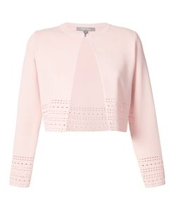 Lela Rose | Perforated One Button Cardigan