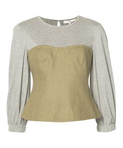 Tibi | Hessian Bustier Top Size 6