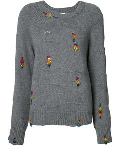 Marc Jacobs | Embroidered Sweater S