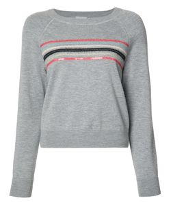 Grey Jason Wu | Striped Sweatshirt