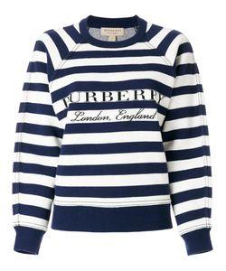 Burberry | Striped Logo Jumper