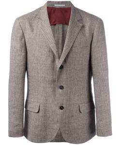Brunello Cucinelli | Flap Pockets Blazer 48 Linen/Flax/Cupro
