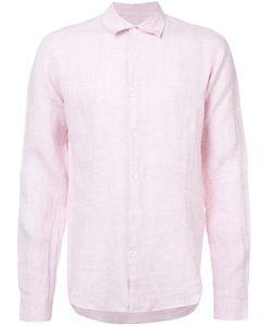 Orlebar Brown   Классическая Рубашка С Длинными Рукавами
