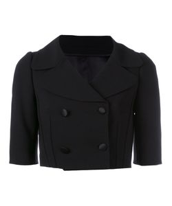 Dolce & Gabbana | Cropped Jacket 42 Virgin Wool/Silk/Spandex/Elastane