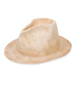 HORISAKI DESIGN & HANDEL | Шляпа С Эффектом Обгорелости