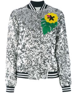 Mira Mikati | Sequinned Bomber Jacket