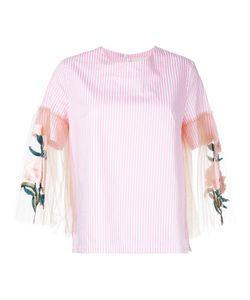 Elaidi | Sheer Sleeve Blouse Size 46