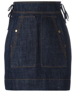Kenzo | High-Waisted Denim Skirt Size 34