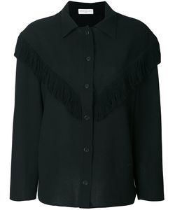 Veronique Leroy | Fringed Trim Shirt Women