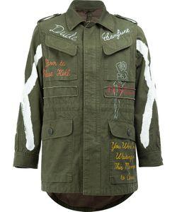 Maison Mihara Yasuhiro | Printed Field Jacket Size 52