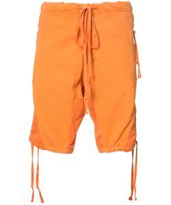 GREG LAUREN | Panelled Shorts Size