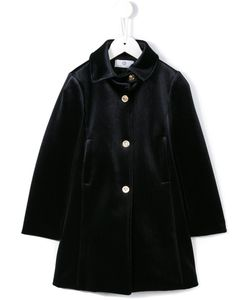 Young Versace | Textu Button Front Coat 7 Yrs
