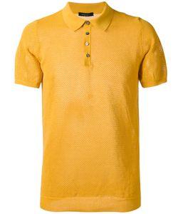 Roberto Collina   Textured Polo Shirt Size 50