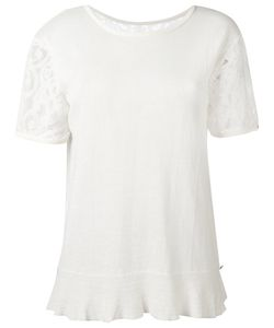 Twin-set | Lace Trim Top Large Cotton