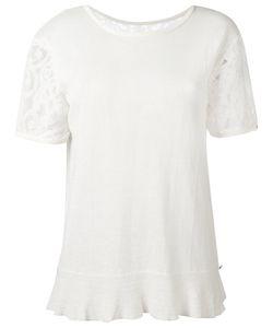 Twin-set | Lace Trim Top Large Cotton